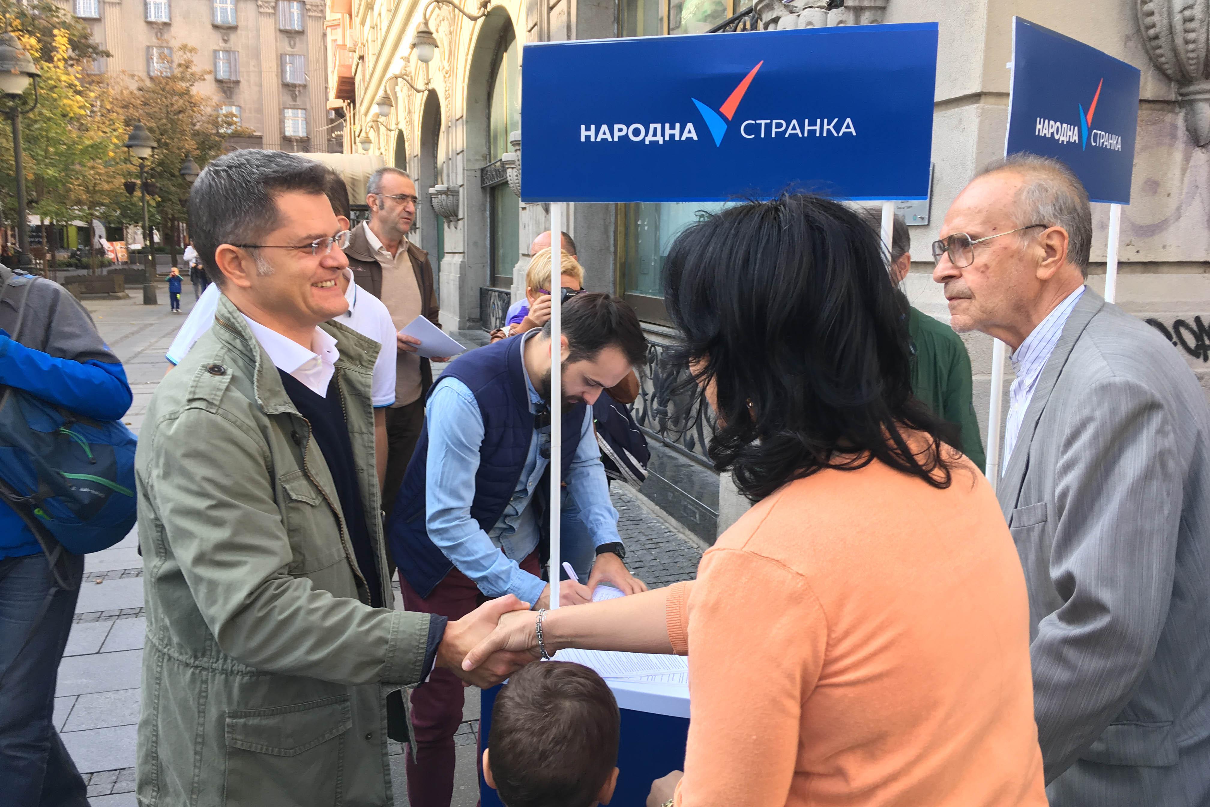 Потписивање Прогласа за Србију