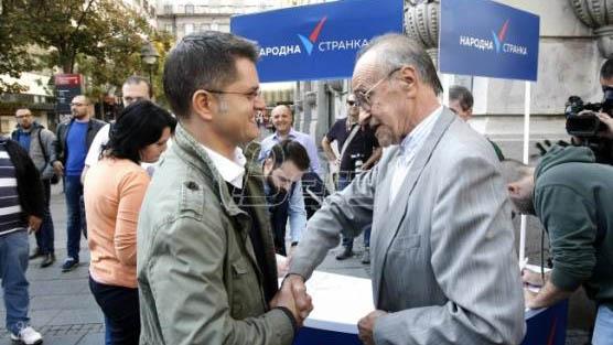 Јеремић: Народна странка отворена за све који ће се без компромиса борити против власти