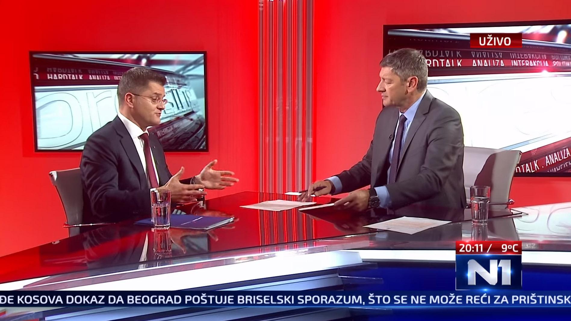 Јеремић: Власт 2018. потписује споразум и Косово улази у УН