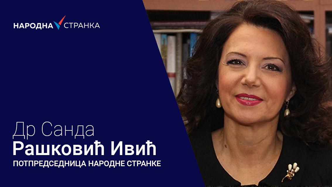 Санда Рашковић Ивић: Тражимо одлагање избора и формирање прелазне владе
