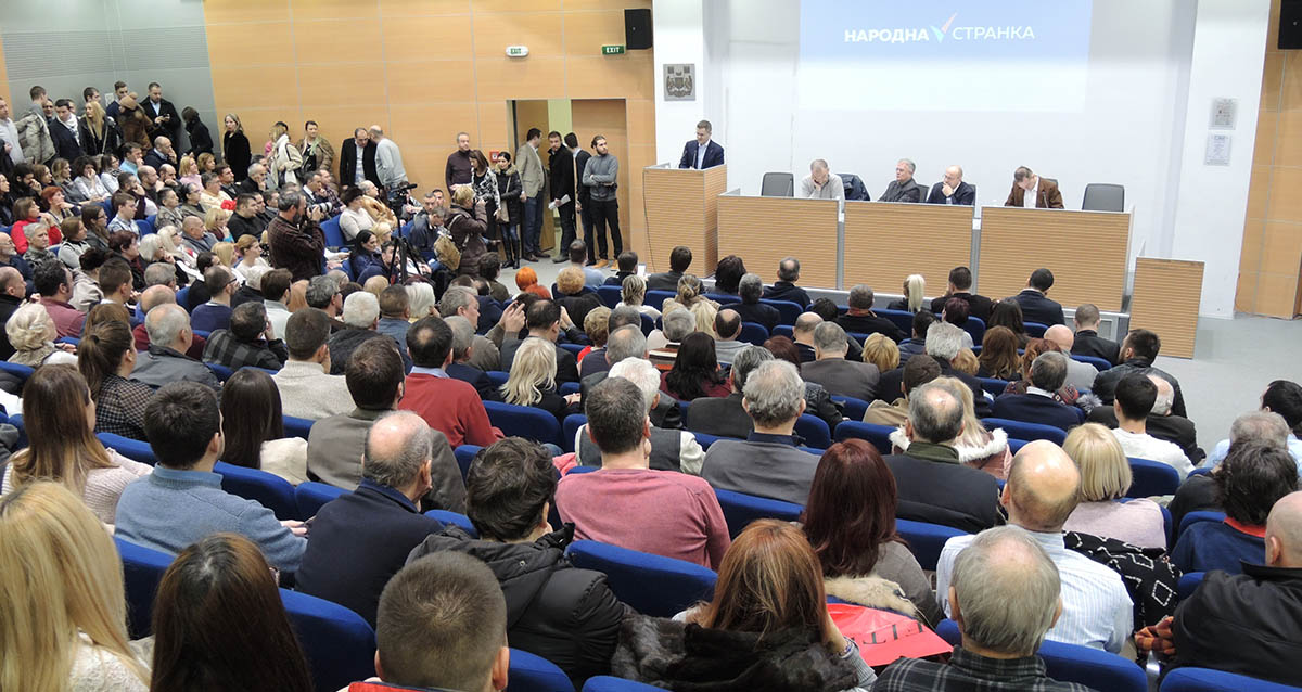 Јеремић: Власт гази националне интересе и грађанске вредности, промена је први циљ
