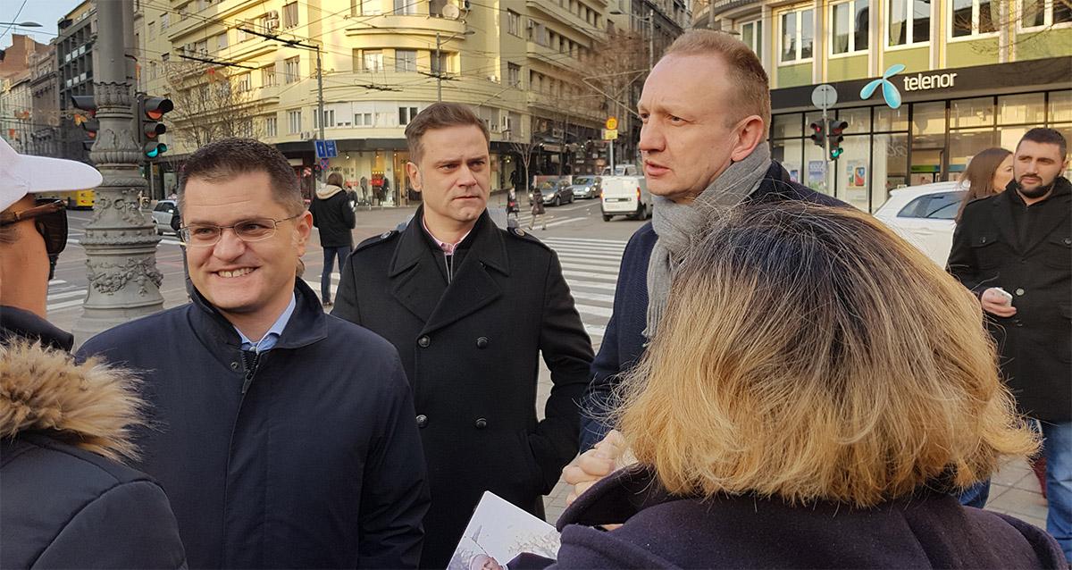 Јеремић: Београђани су уз нас, супротставићемо се режиму 4. марта