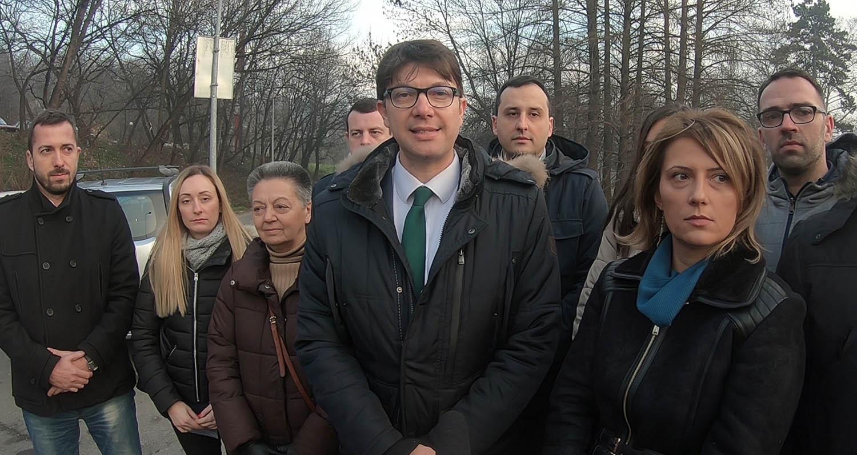 [Видео] Јовановић: Изградићемо булевар од Моста на Ади до Раковице