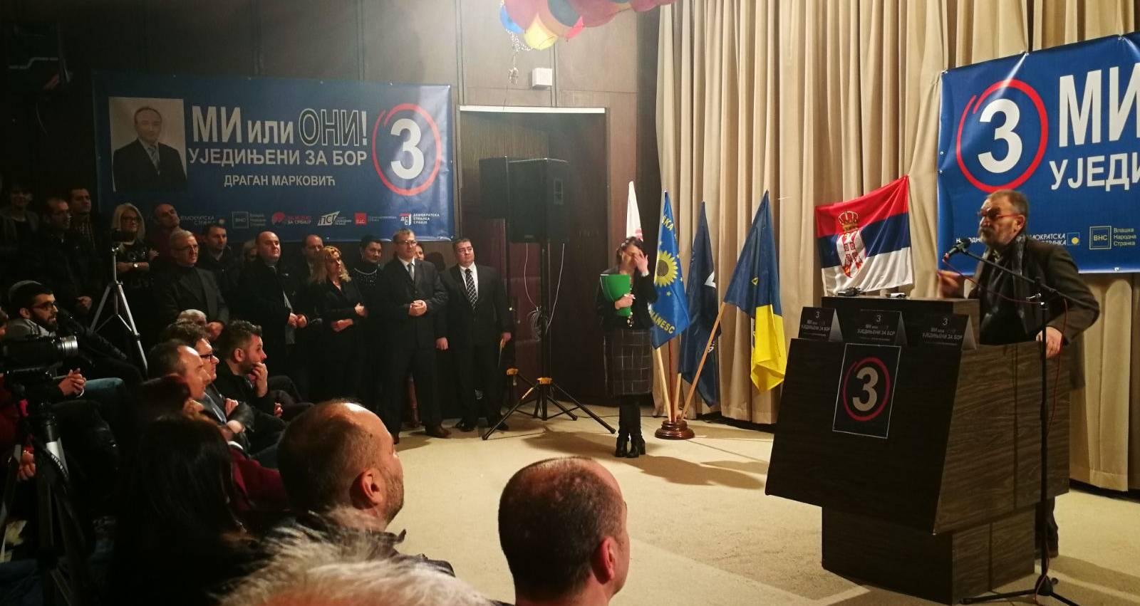 Синиша Ковачевић у Бору: Усправите се и освојите слободу!
