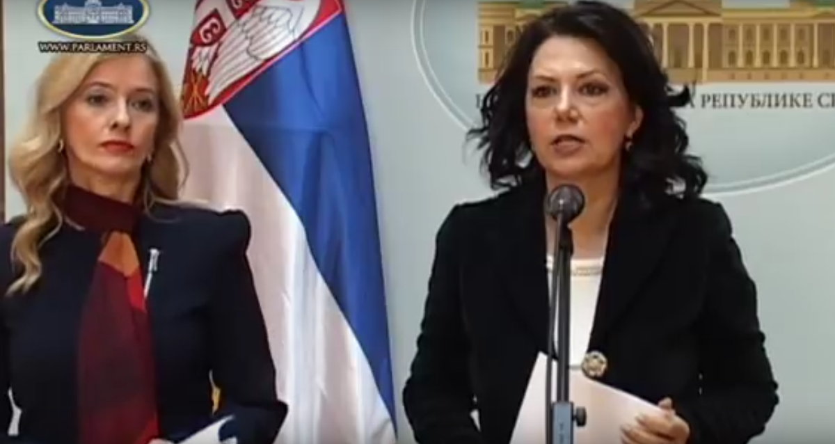 Санда Рашковић Ивић и Дијана Вукомановић: Небојша Стефановић је организатор изборне крађе