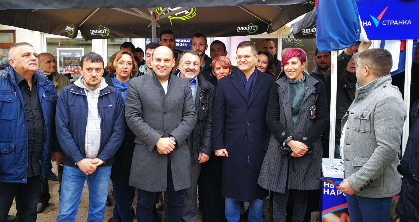 Јеремић: Народна странка једина нуди промене у Смедеревској Паланци