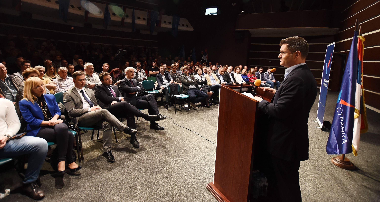 Јеремић: Народна странка ће стати на пут напредњачком режиму и биће гарант промена