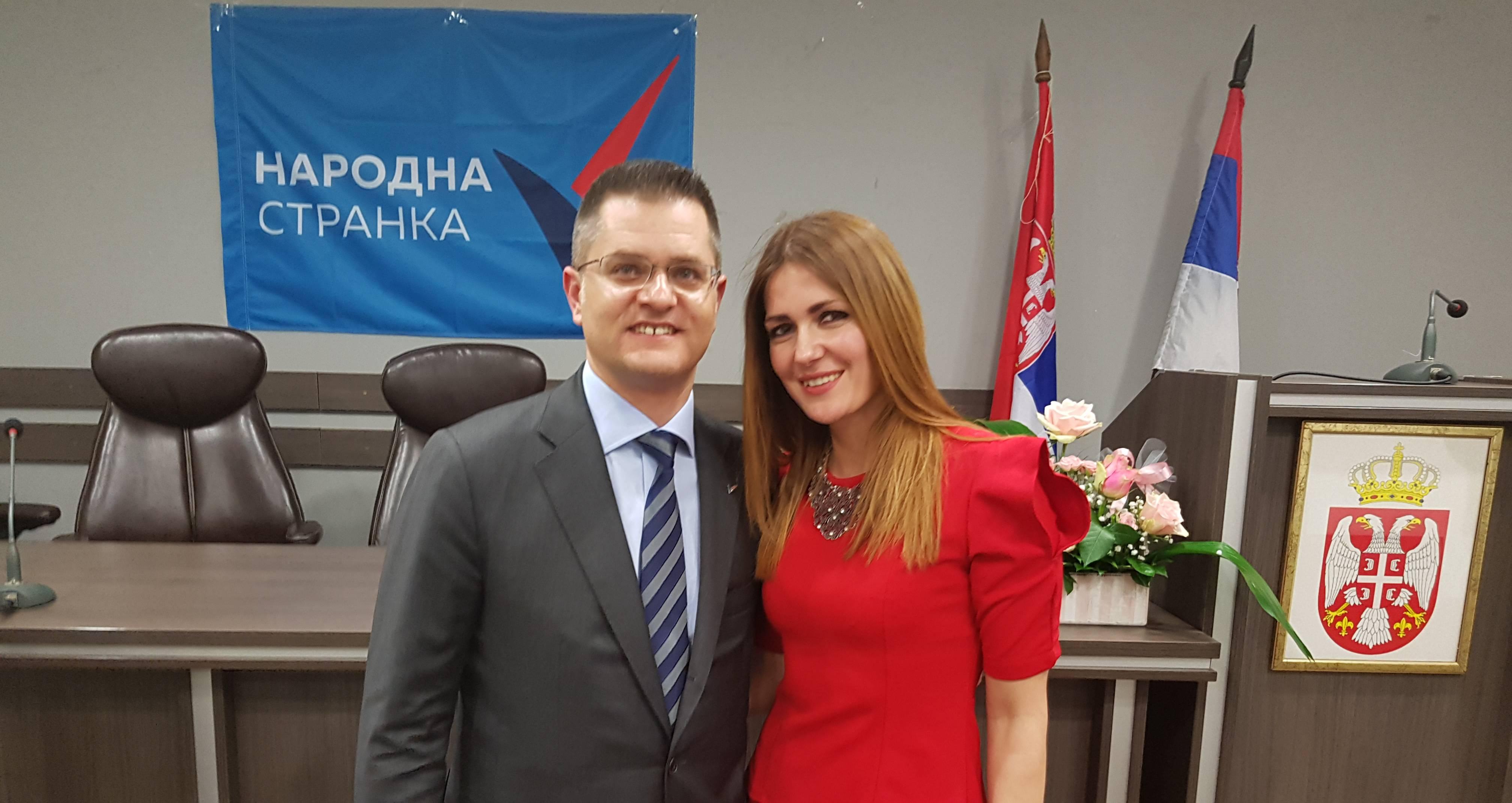 Основан Општински одбор Народне странке у Крупњу, Слађана Грбић председница