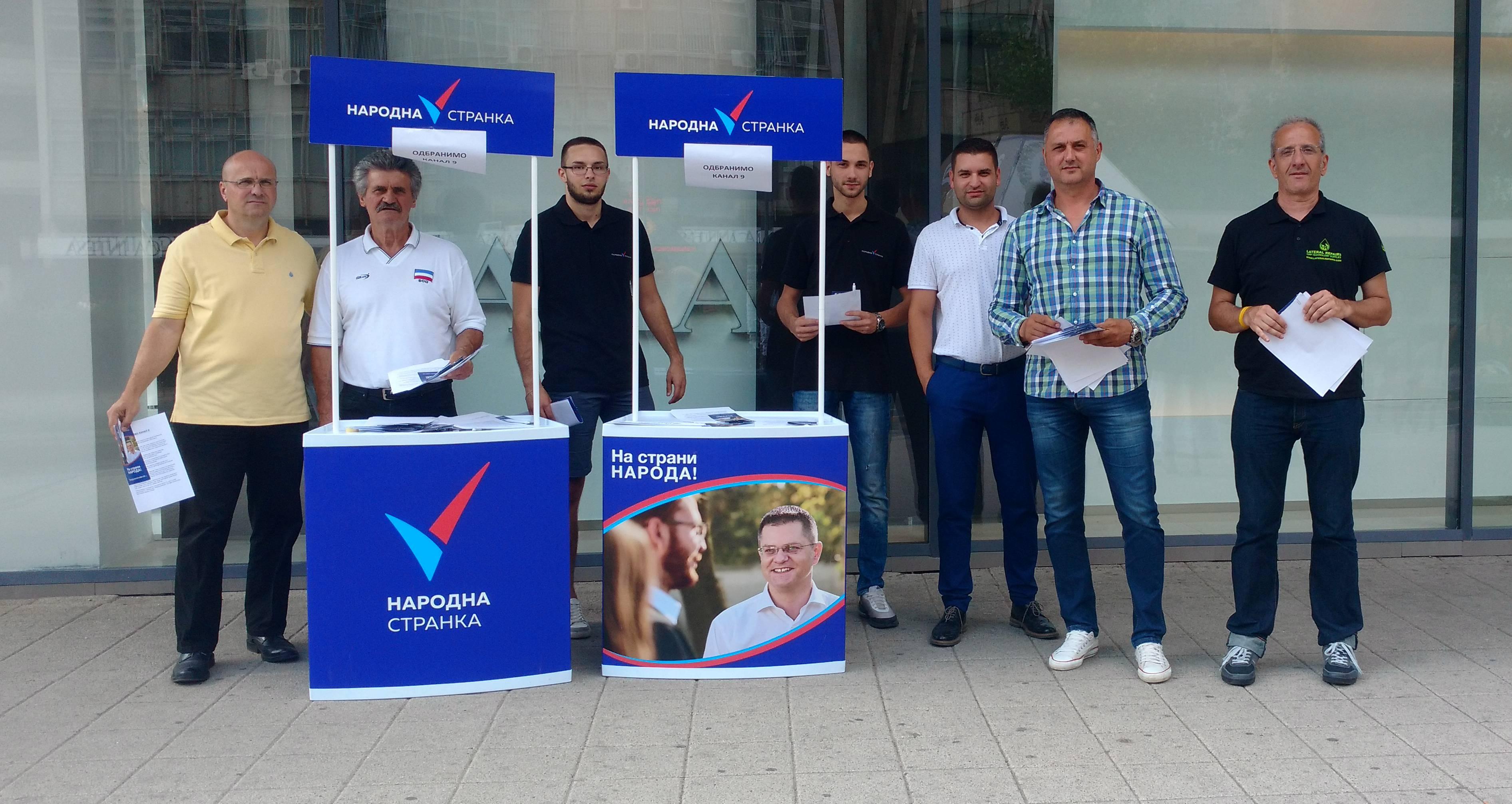 Новаковић: Вучић гаси медије, али неће успети да угаси незадовољство народа