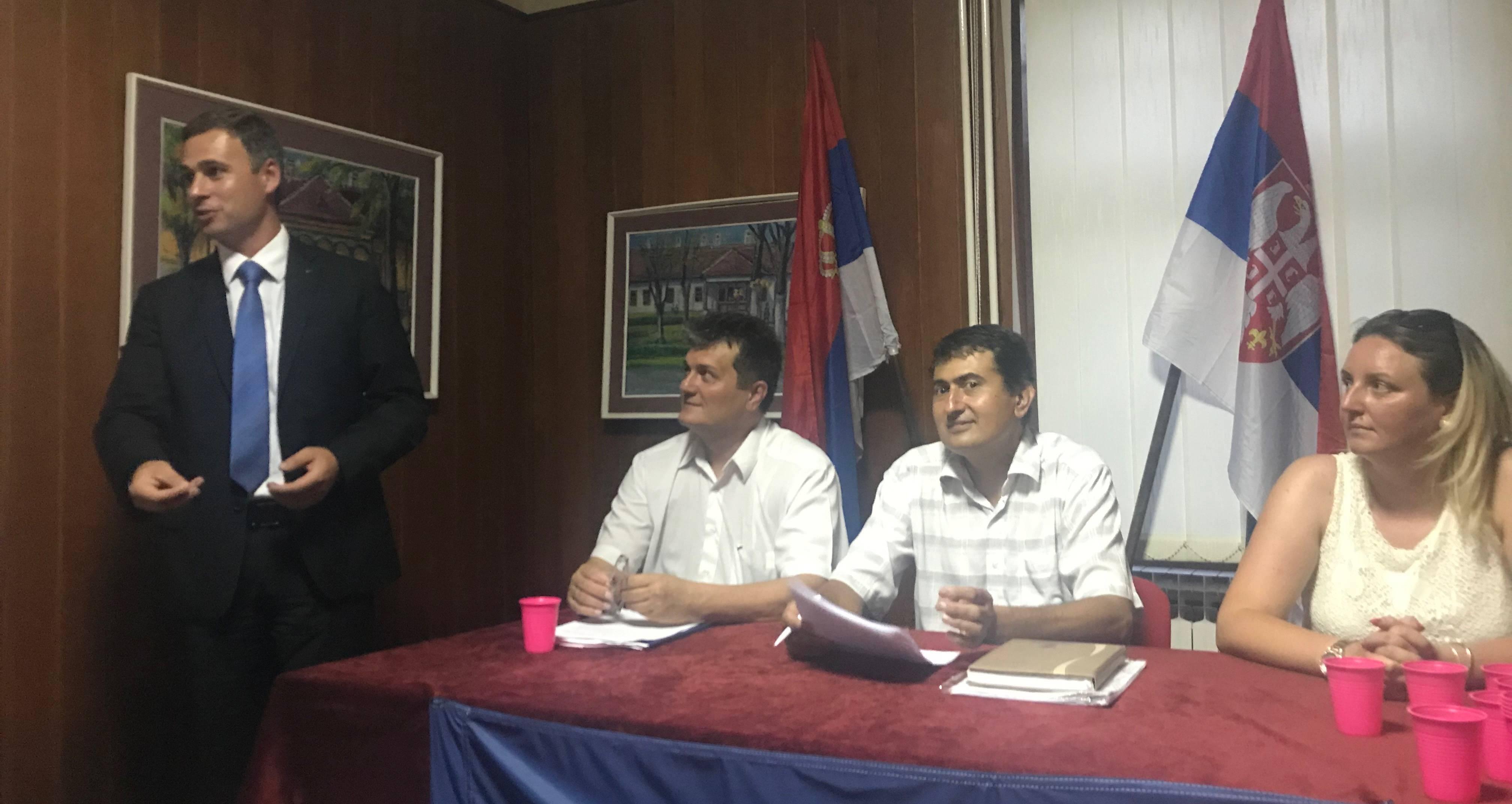 Владимирци: Основан Општински одбор Народне странке