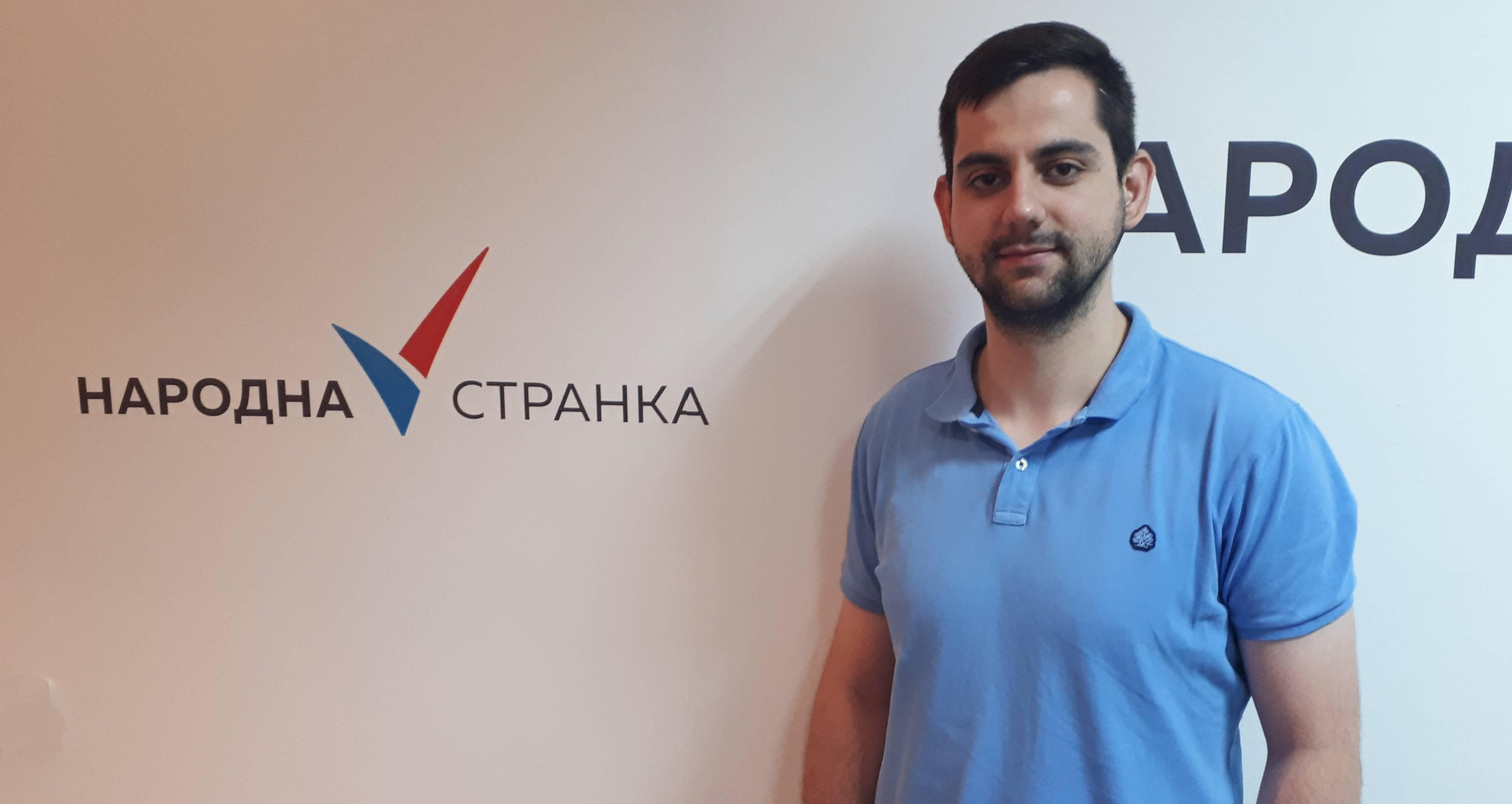 Иван Гајић изабран за председника Омладине Народне странке