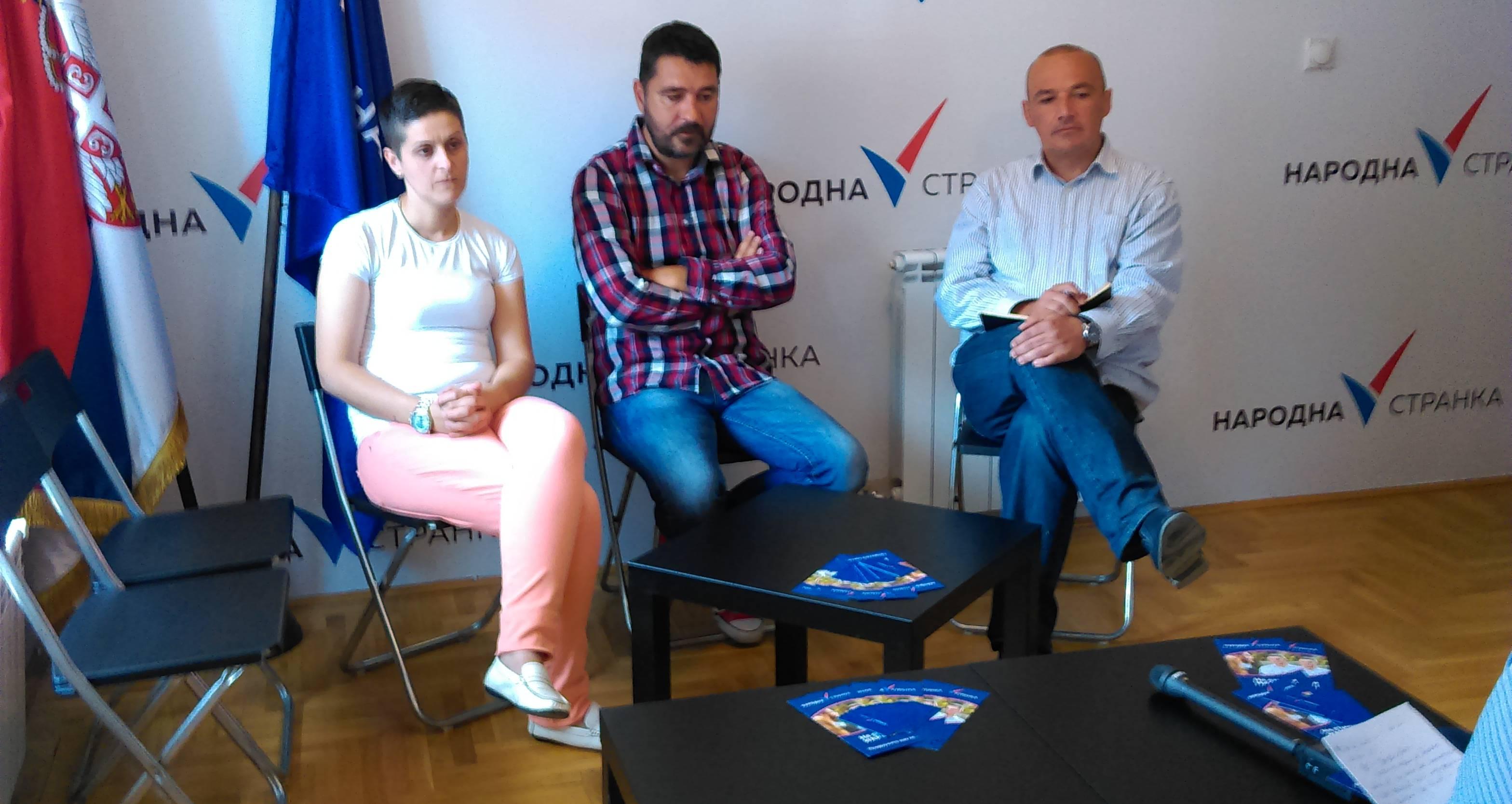 Бабић: У Крагујевцу што пре формирати заједнички фронт опозиције