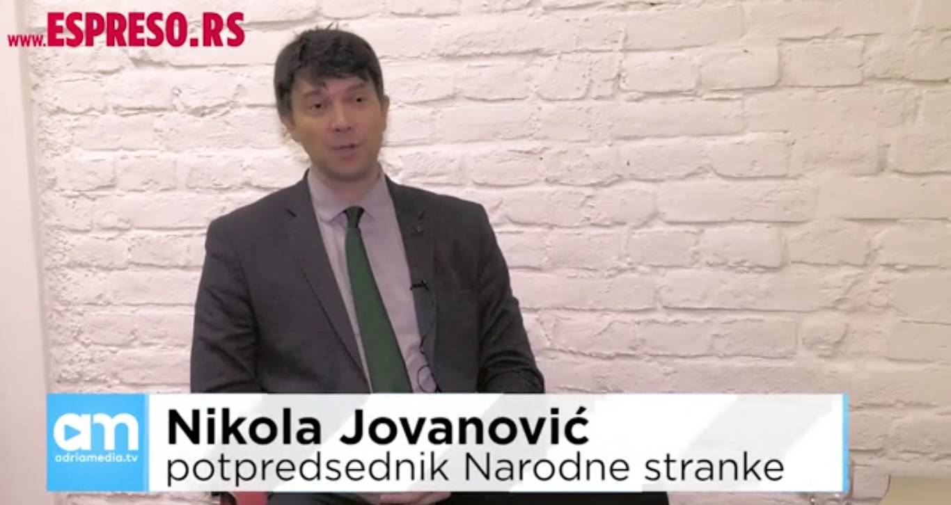 Јовановић: Јак опозициони фронт до краја јула, па кампања по целој Србији