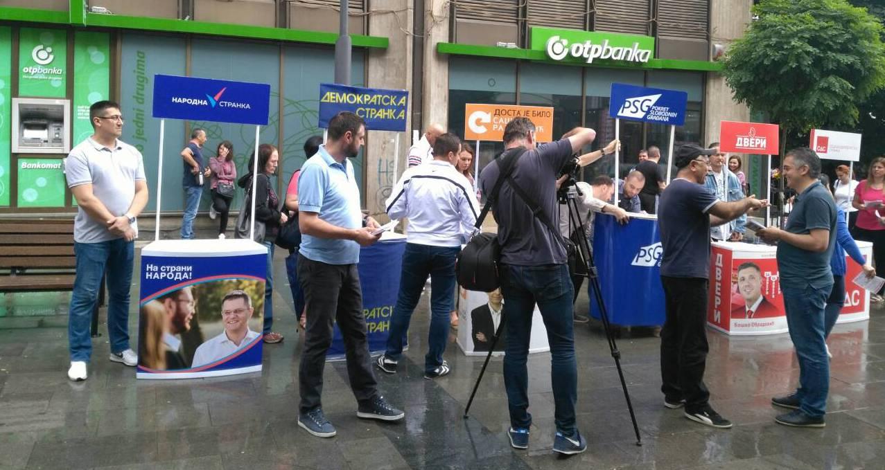 Врање: Народна странка и друге опозиционе партије покренуле петицију за смењивање локалне власти