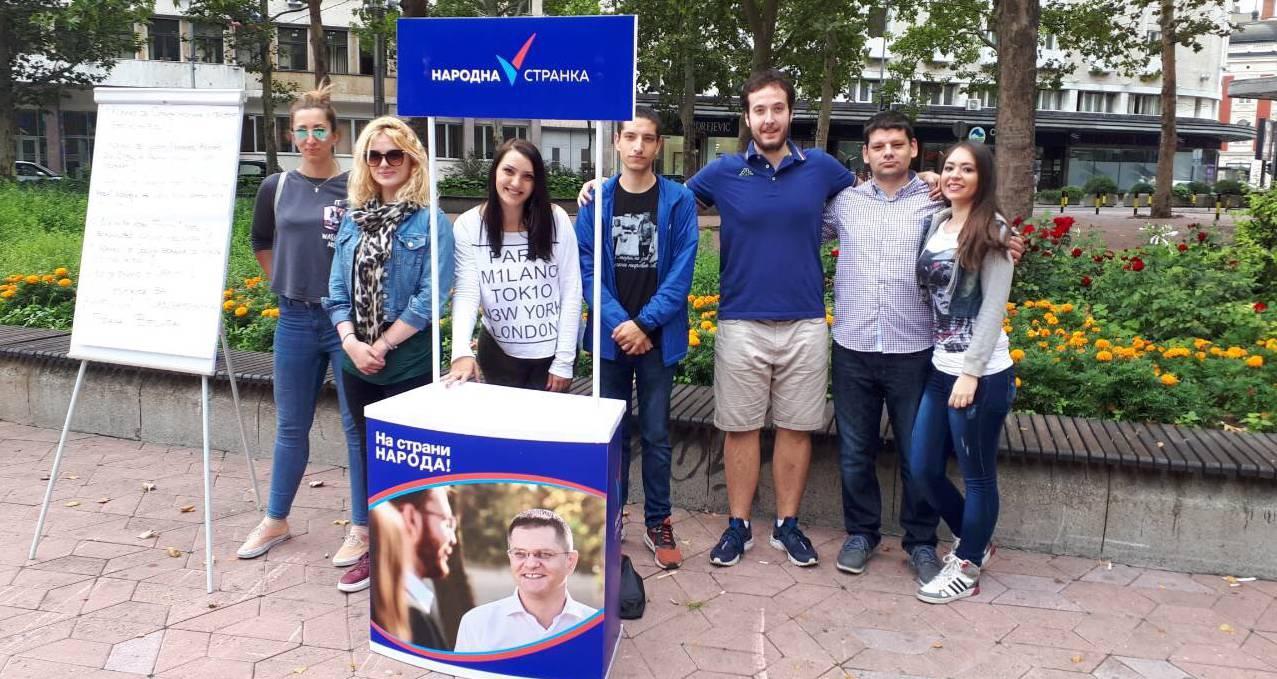 Акција Омладине Народне странке: Питања за Весића