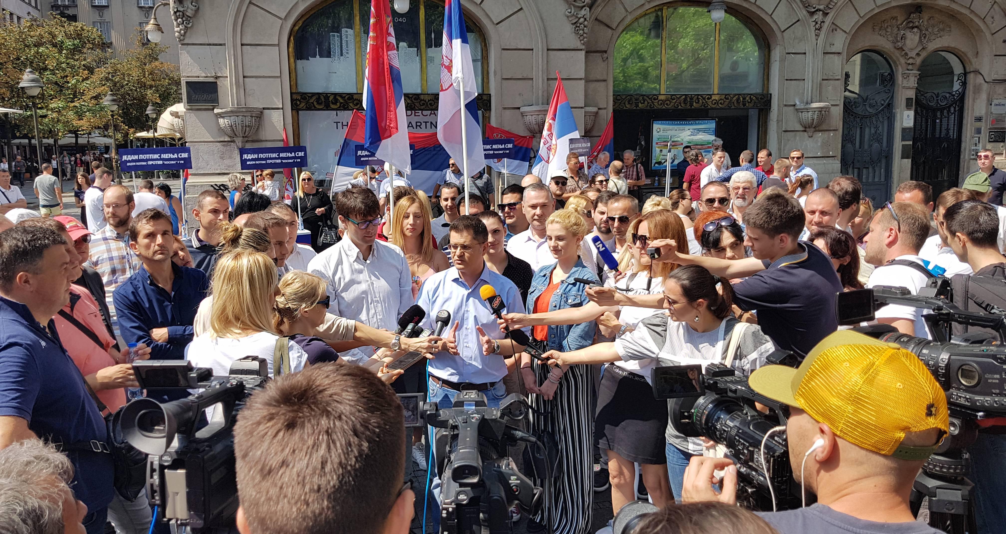 """Народна странка покренула акцију """"Један потпис мења све"""" против чланства Косова у УН"""