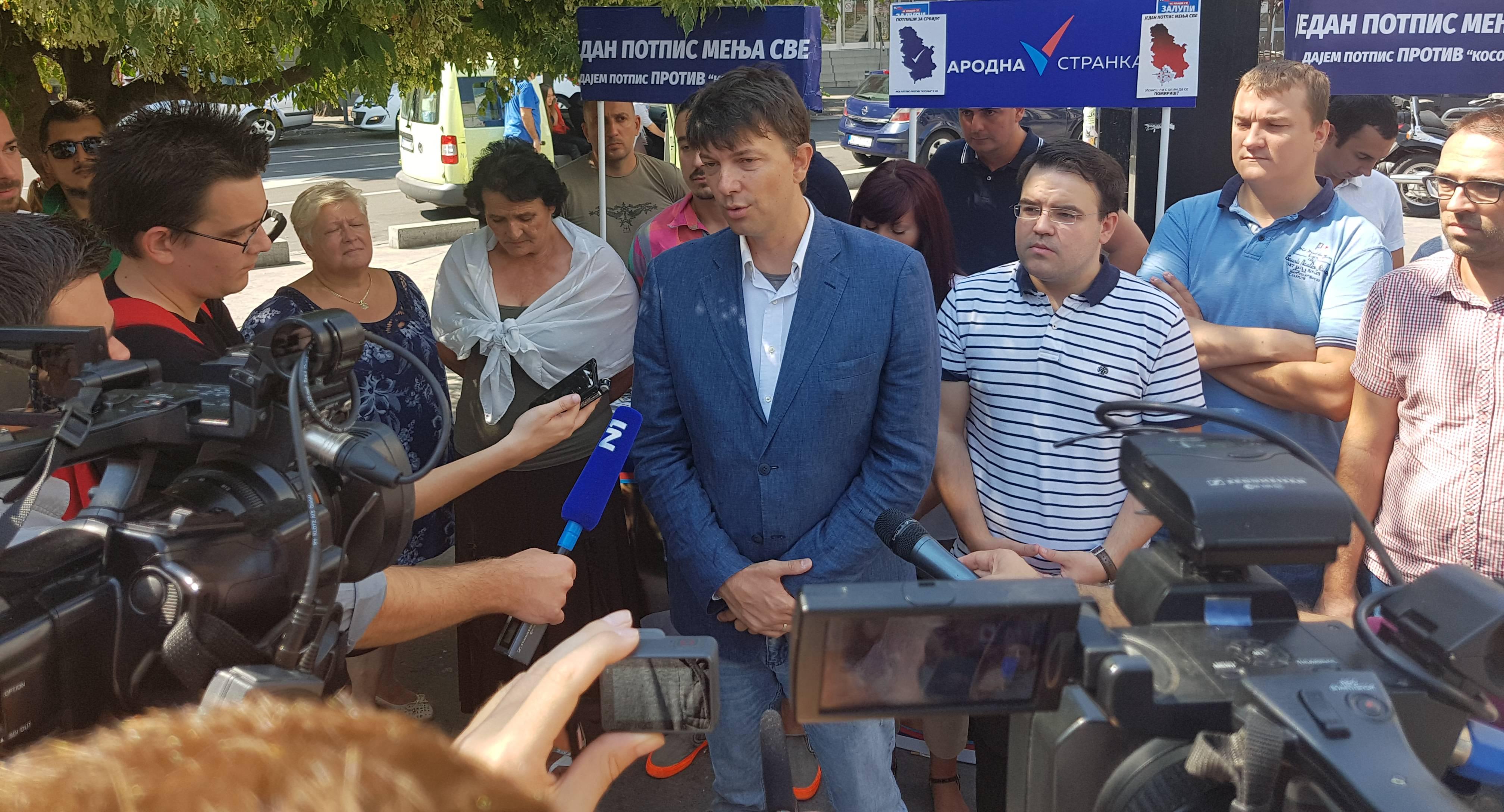 Јовановић: Народна странка против погубног завршетка статусних преговора са Приштином