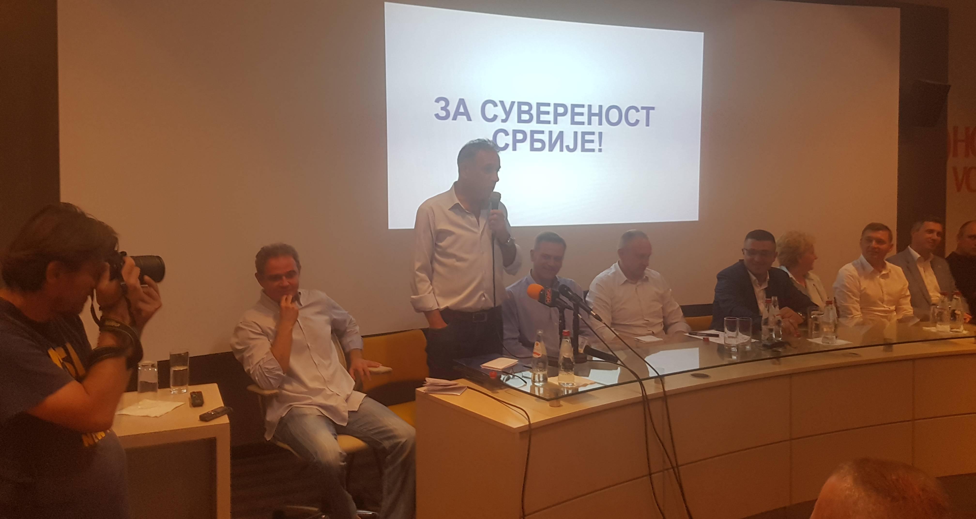 Савез за Србију: Спречити распродају највредније имовине у бесцење и спречити решавање Косова давањем нашег за наше