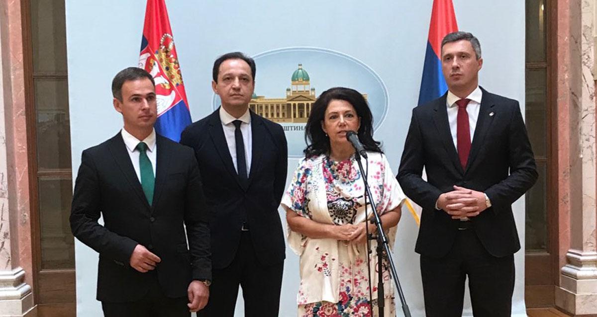 Савез за Србију- Посланичке групе оснивача СЗС настављају самостално деловање, али сарађују по заједничким темама