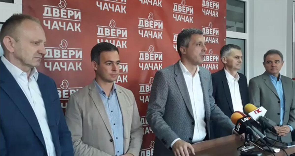 Савез за Србију: Избори у Лучанима ће бити тест, формирамо тим за праћење избора