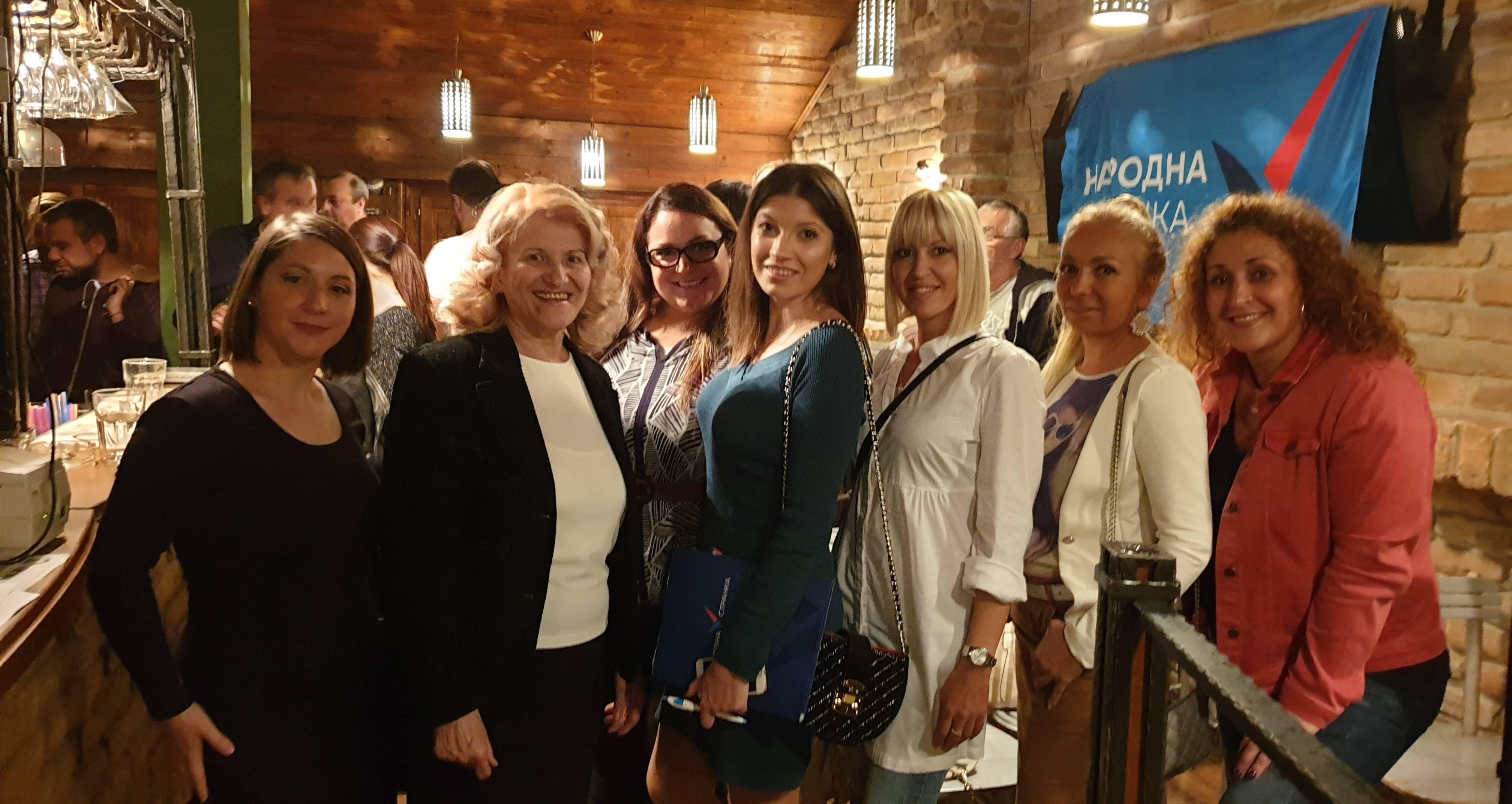 Почео процес конституисања Форума жена Народне странке широм Србије