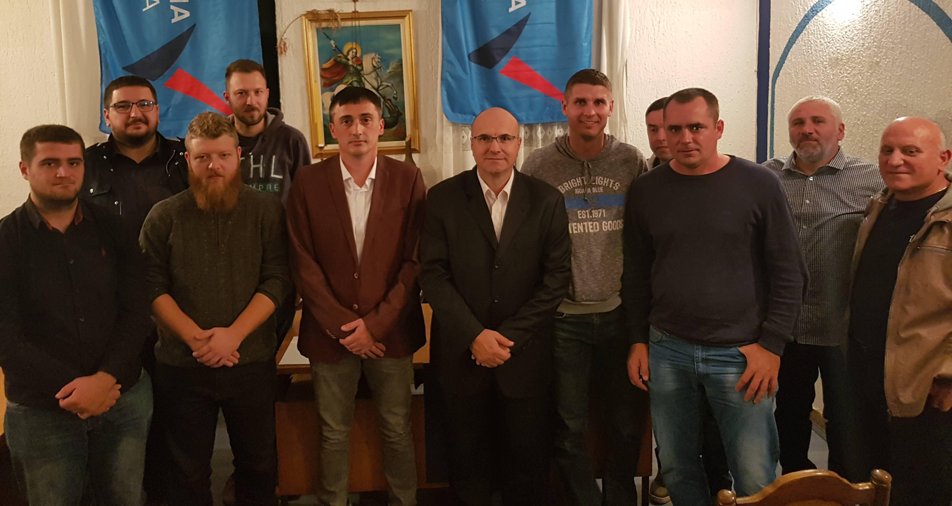 Оџаци: Основан општински одбор Народне странке