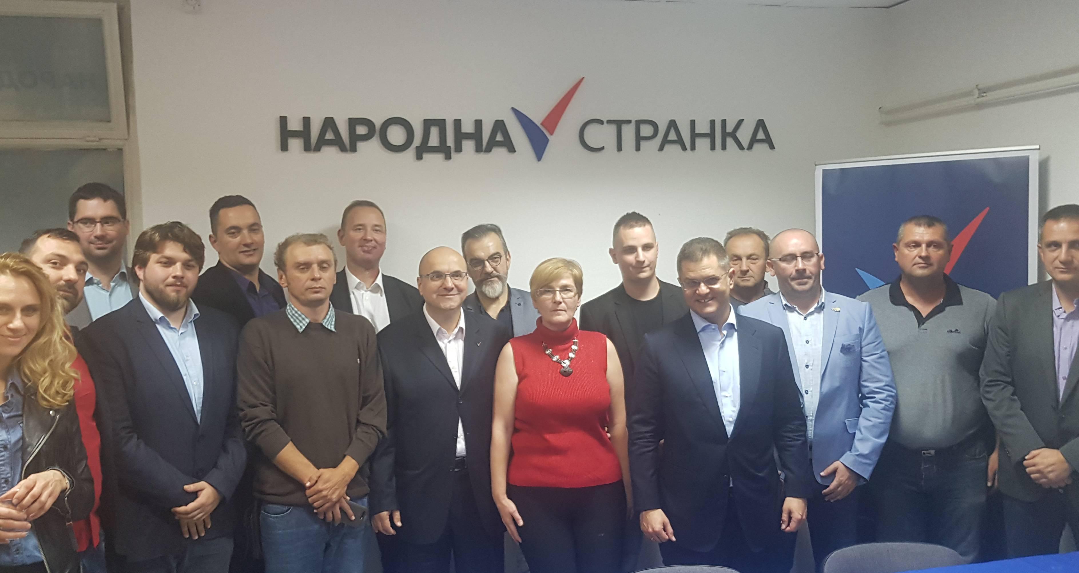 Врбас: Основан Градски одбор Народне странке