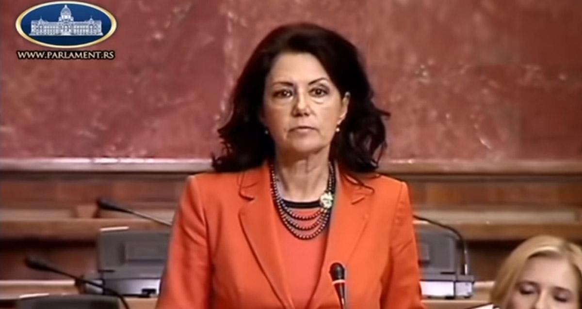 Рашковић Ивић: Формирање војске Косова је терористички акт