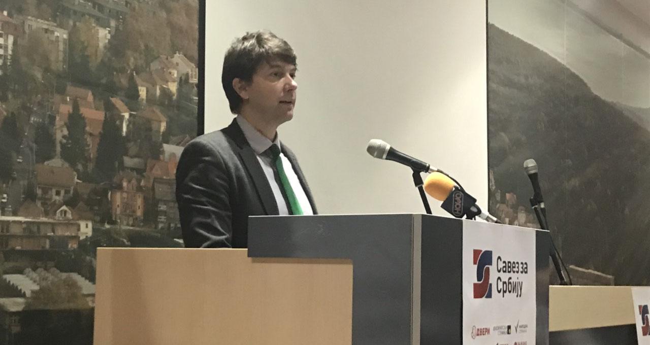 Јовановић: Протестујемо против насиља, вређања интелигенције и гажења достојанства