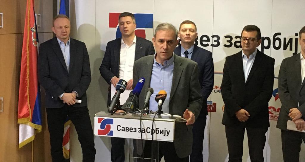 Понош: Члан Народне странке у Трстенику хапшењем спречен да постави питање председнику Србије