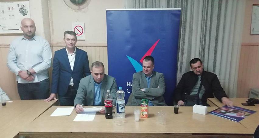 Народна странка: Основан Градски одбор Ћуприја