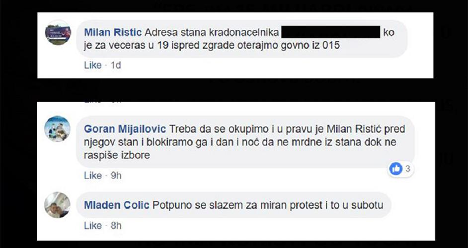 Савез за Србију најоштрије осуђује  позив на линч јединог опозиционог градоначелника у Србији и његове породице