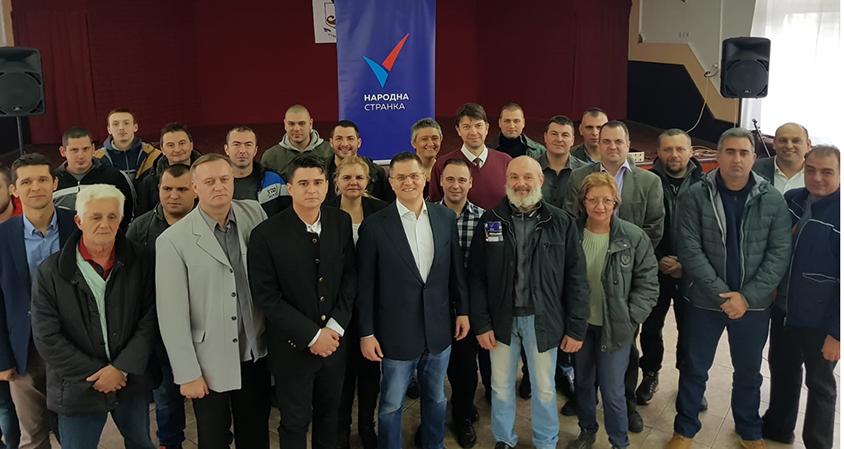 Народна странка: Основан Општински одбор Костолац