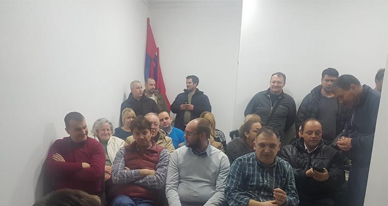 Народна странка Београд: Основан Месни одбор Карабурма