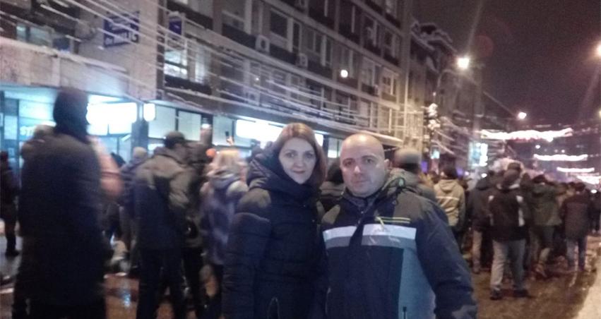Арсић: Бујановчани се придружили протесту у Нишу