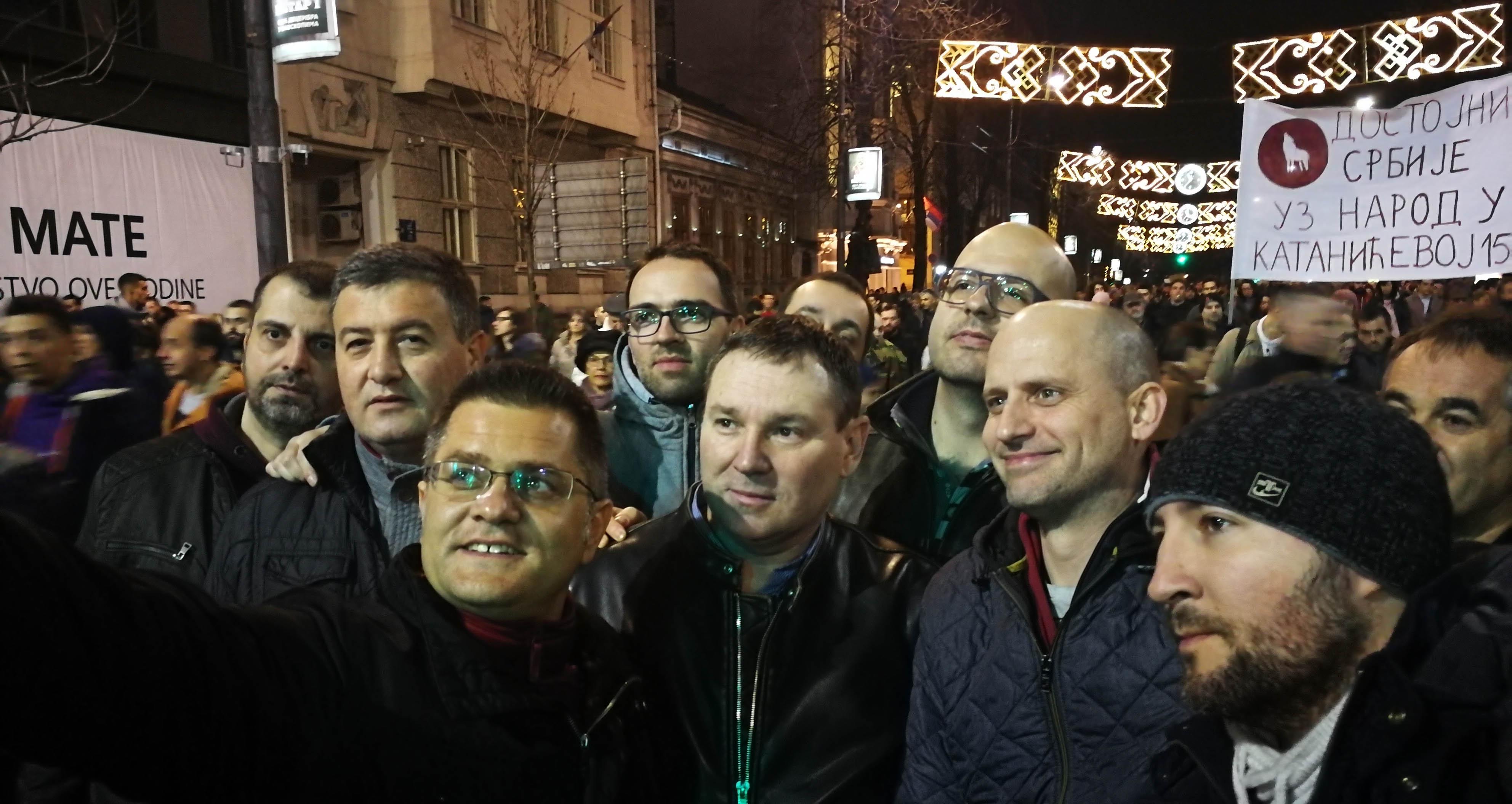 Вук Јеремић: Ко би помислио пре 22 године да ћемо опет на улице