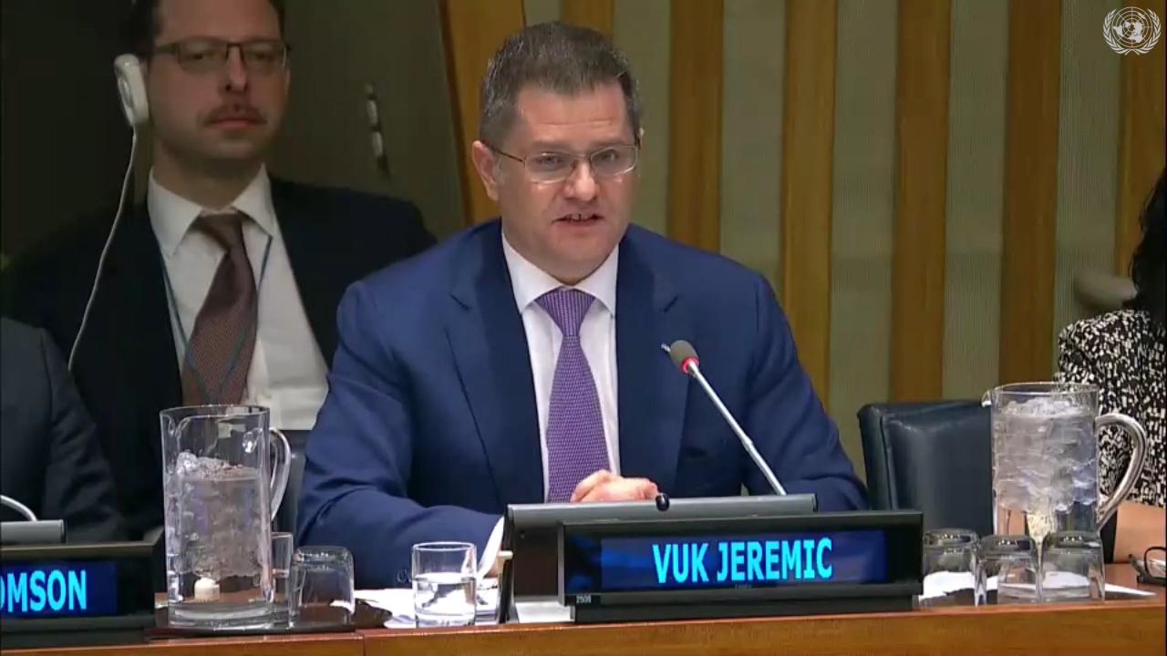Јеремић: Светски поредак у великој кризи, неопходна реформа Уједињених нација