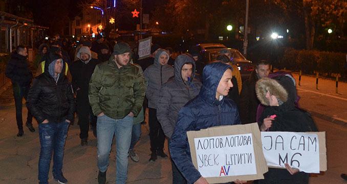 Народна странка Куршумлија: Протести против урушавања града од стране СНС-а