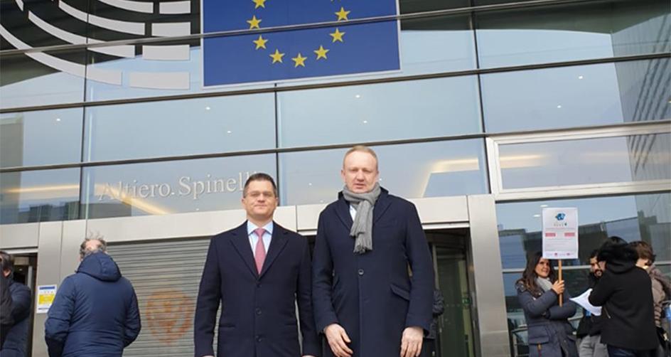 Јермић и Ђилас са европским званичницима у Бриселу: Режим је изгубио легитимитет