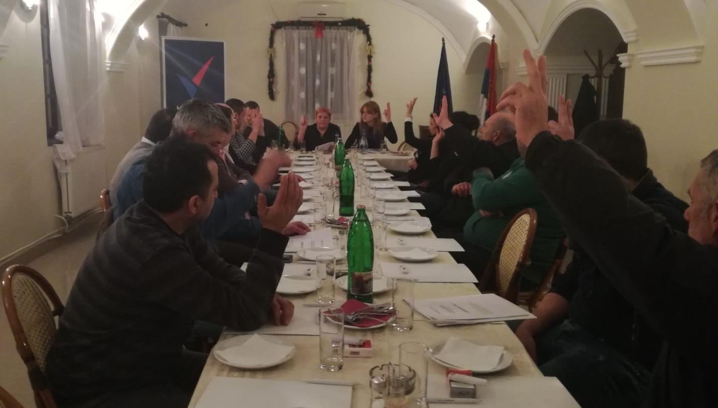 Народна странка: Основан Општински одбор Тител