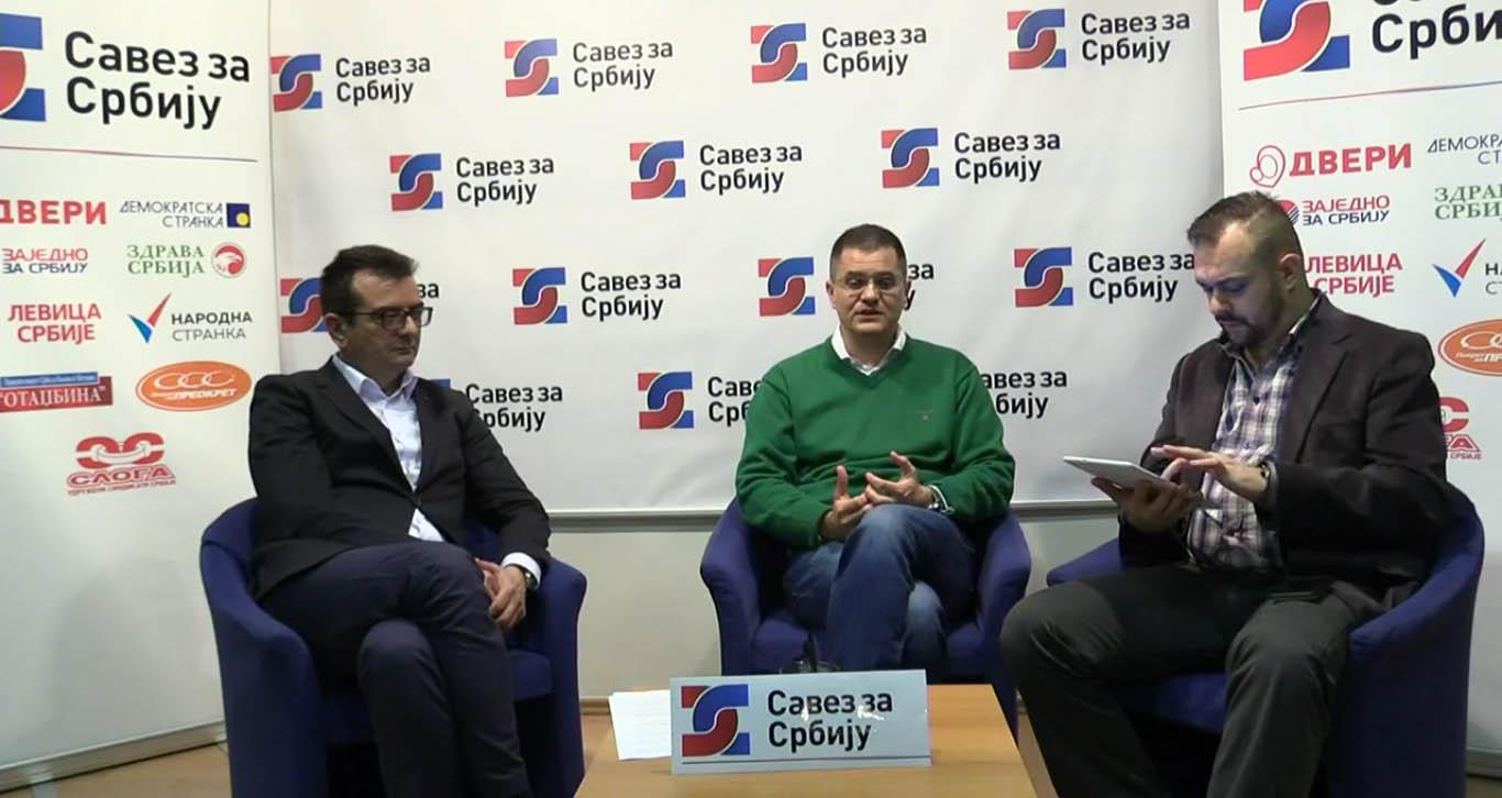 Јеремић: Вучић ће покушати тајне договоре, али имам поверење у колеге из СЗС