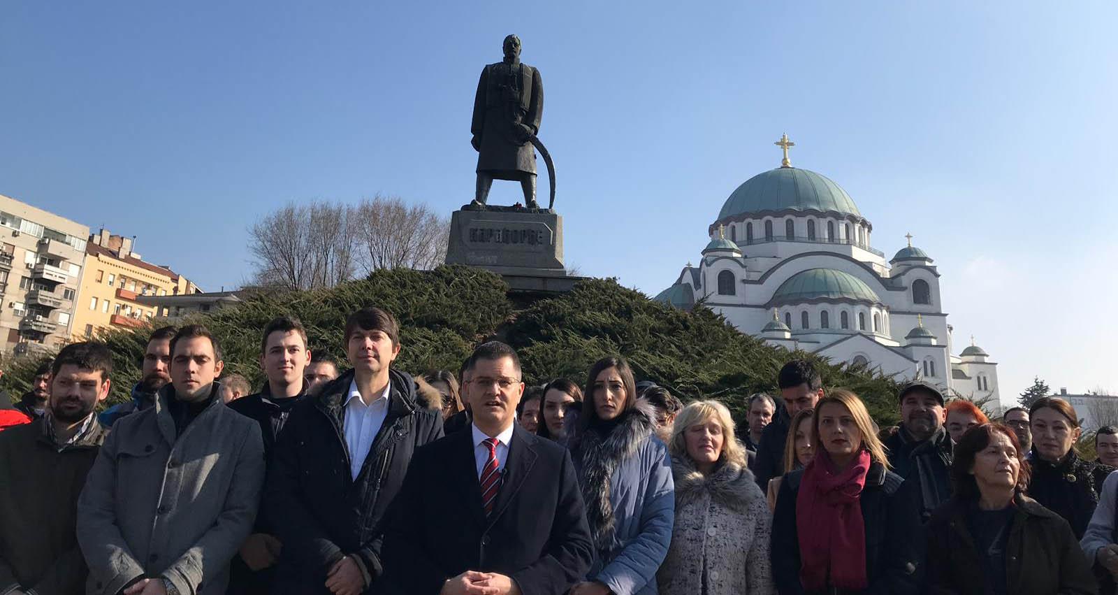 Јеремић честитао Дан државности: Пред нама је пролеће слободе