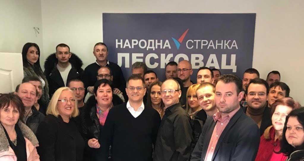 Лесковац: Основан Градски одбор Народне странке
