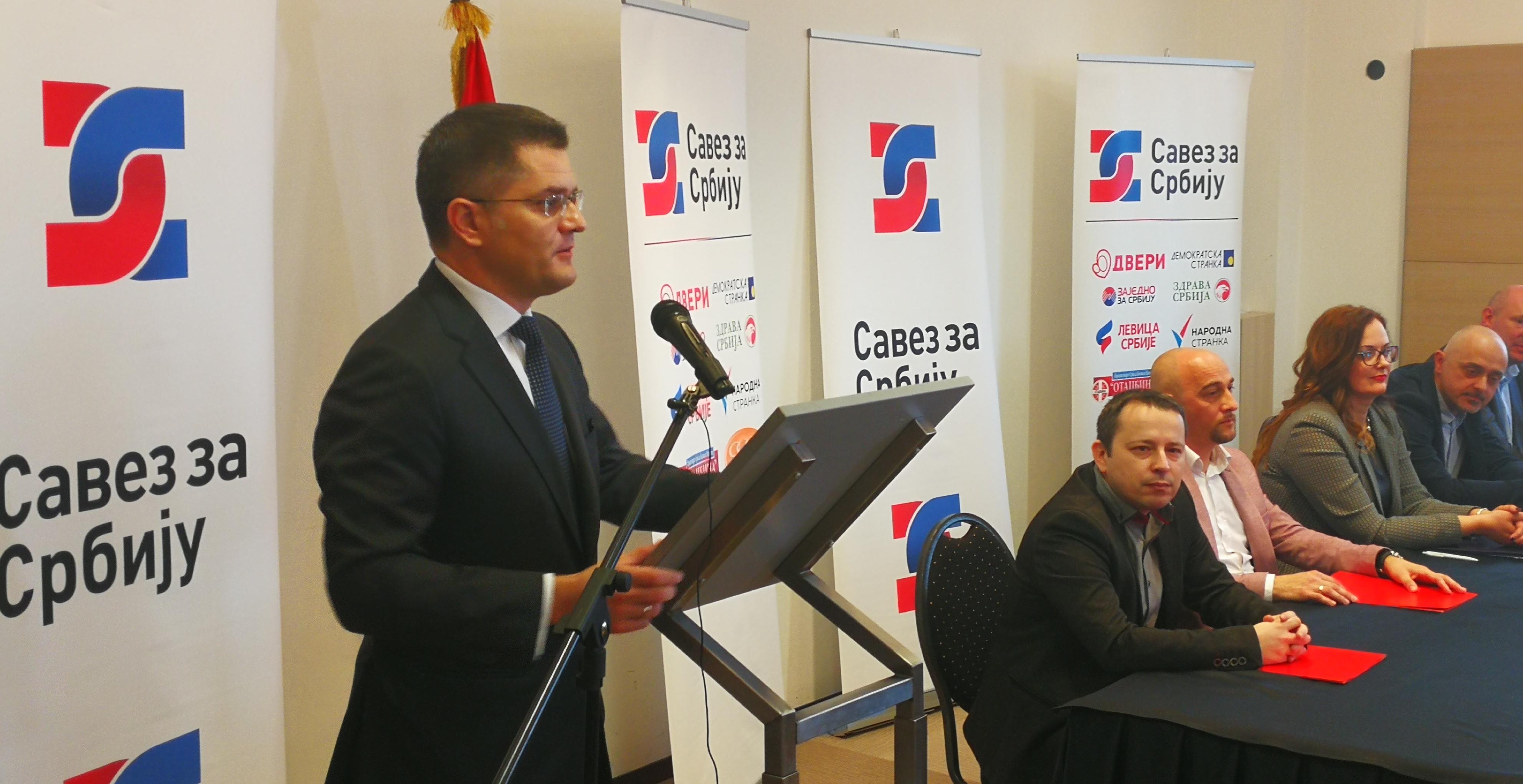 Јеремић: Вучићу у Минхену поручено да се не шали расписивањем избора без опозиције