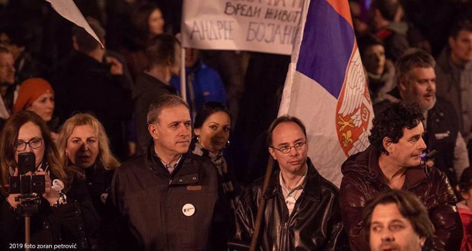 Понош: Смиривање протеста би довело до одмазде напредњачког режима