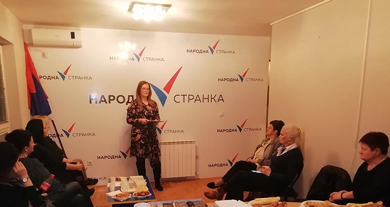 Народна странка Крагујевац: Све већа дискриминација жена