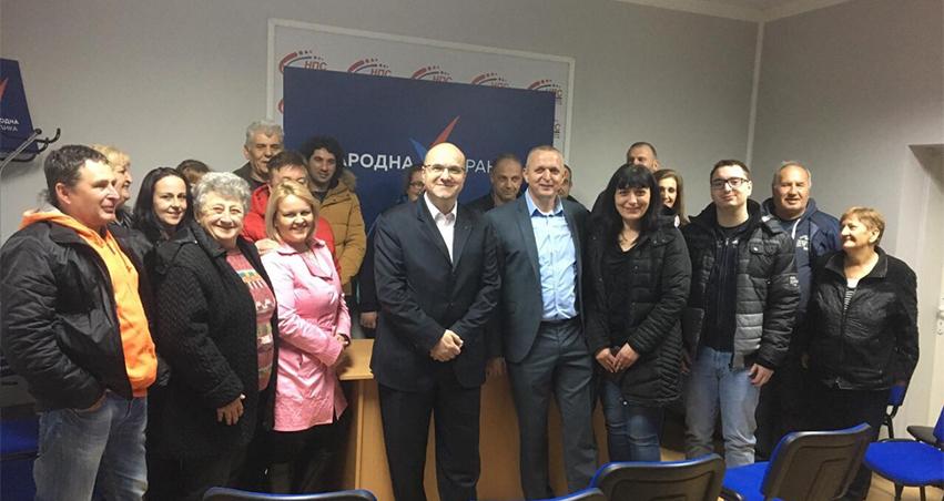 Народна странка: Основан Општински одбор Нова Црња