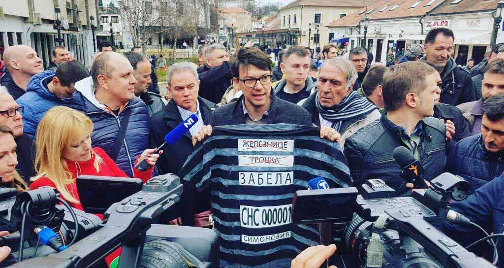 Јовановић: Симоновић више није председник општине Гроцка, али мора и кривично да одговара