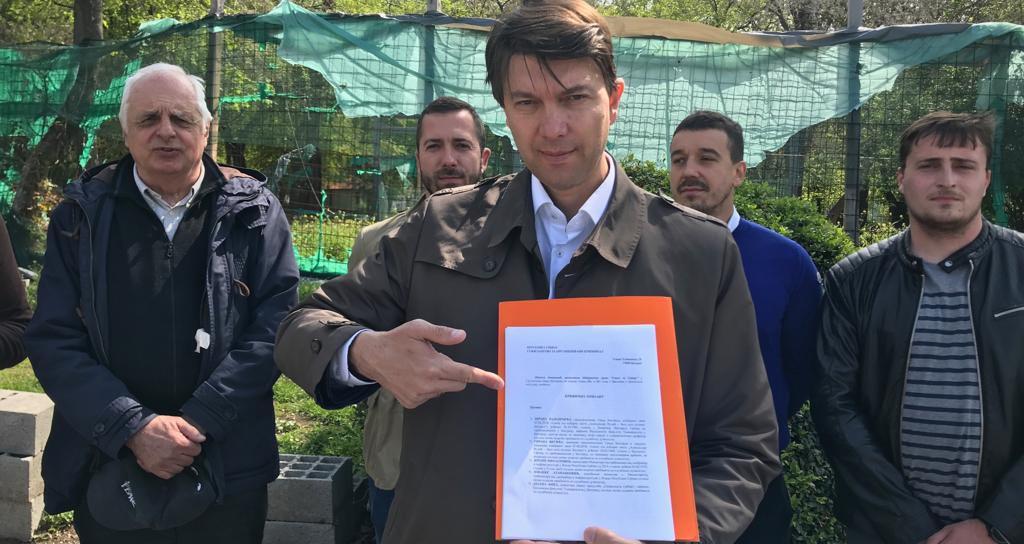 Јовановић Тужилаштву за организовани криминал поднео пријаву против Весића и Зоране Михајловић због гондоле