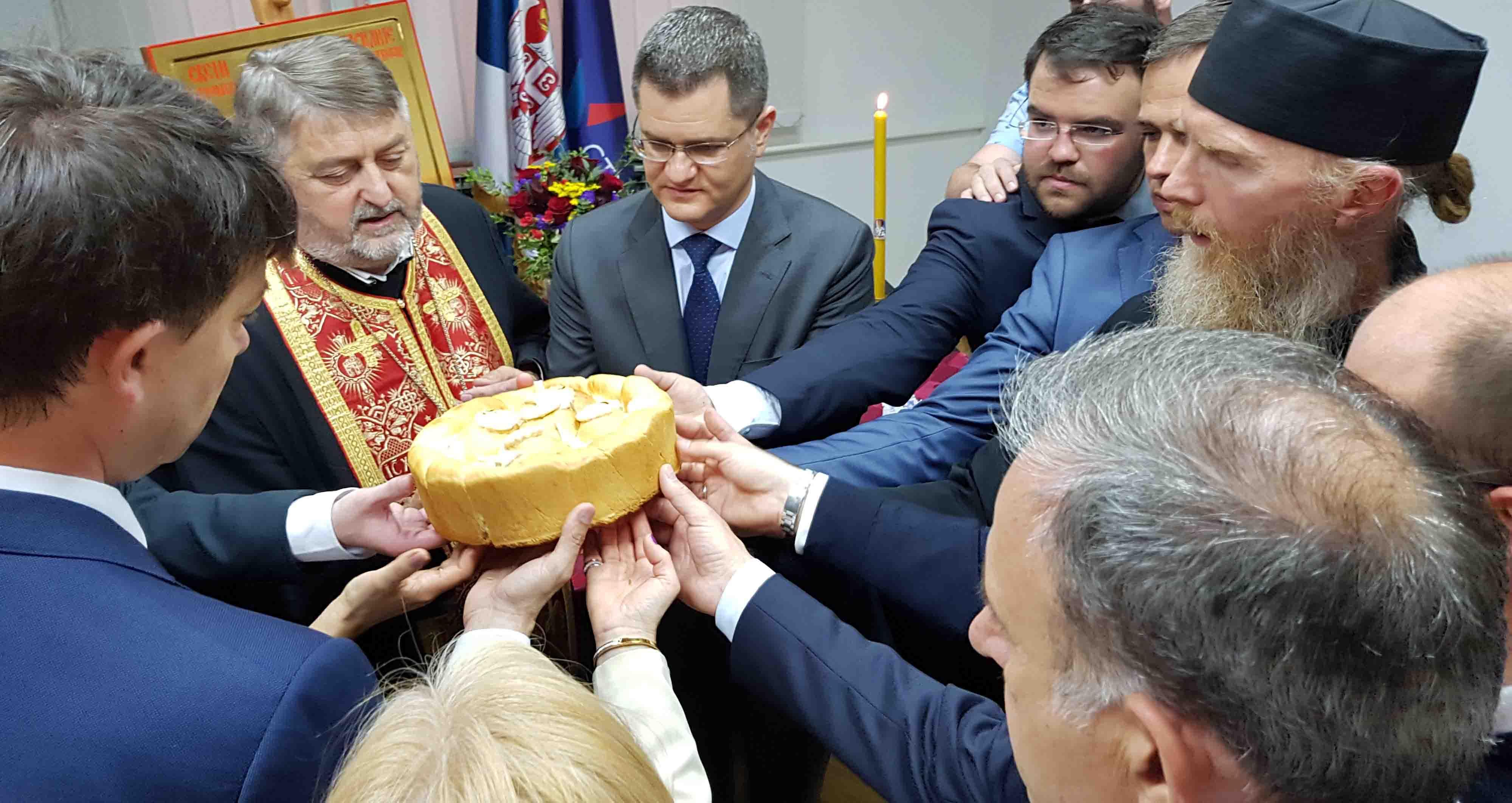 Народна странка прославила славу Светог Василија Острошког Чудотворца